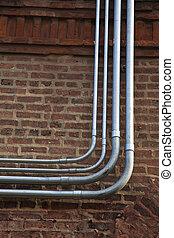 Fiber and power conduits - Fiber and power rigid conduits...