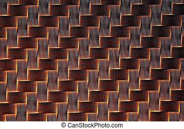 fiber, bakgrund, 3, kol