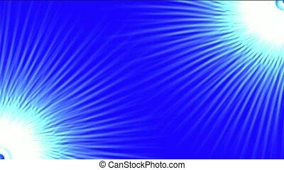fiber optic and rays light - rotation fiber optic lines...