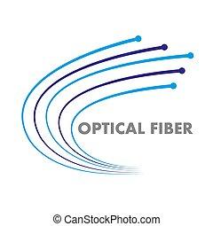 fiber optic logo