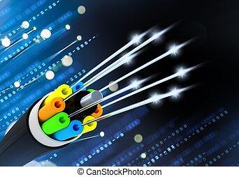 Fiber Optical Cable Concept