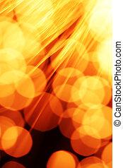 Fiber optics background - Fiber optics abstract background
