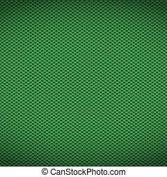 fibra, ilustração, experiência., vetorial, verde, textura, carbono
