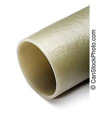 fibra vidro, composto, cano