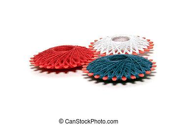 fibras, colorido