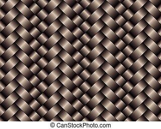 fibre, modèle, texture, arrière-plan noir, carbone, tissé