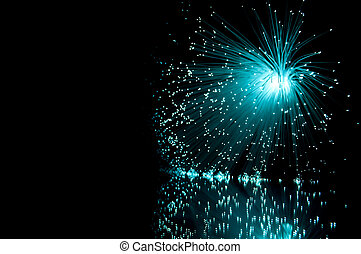 Fibre optics. - Positioned in the right portion of the...