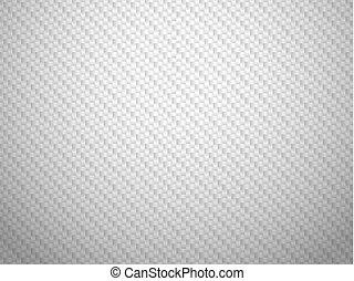 fibre, volume, vecteur, fond, carbone, blanc