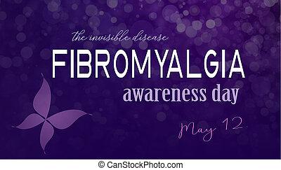 fibromyalgia, dag, medvetenhet