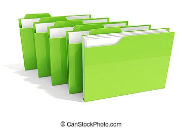 fichiers, disier, 3d