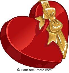fidanzato, caramella, giorno, regalo