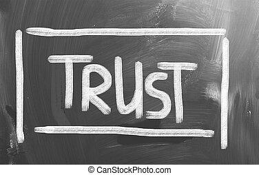 fiducia, concetto