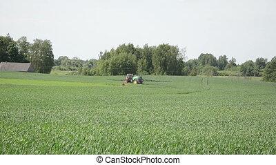 field crop tractor