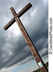 Field cross