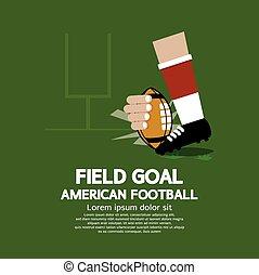 Field Goal American Football.