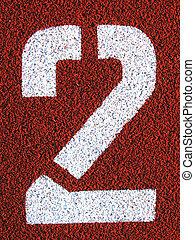 Field Markings - Stenciled number - 2