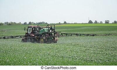 field tractor spray