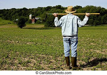 field worker farmer