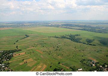 fields., antenna, kaszáló, image.