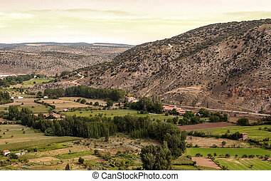 Fields of Albarracin