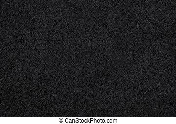 fieltro, fondo negro