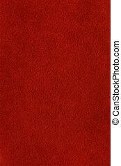 fieltro, fondo rojo