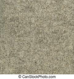 fieltro, lana, tela, gris