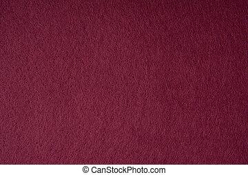 fieltro, plano de fondo, tela, textura, rojo