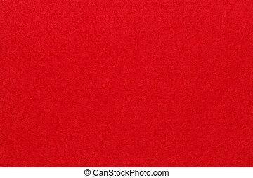 fieltro, rojo