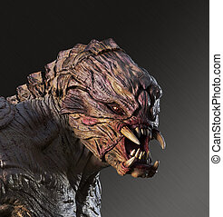 Fierce Alien Monster