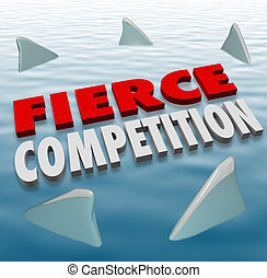 Fierce Competition Shark Fins Water Difficult Challenge Game