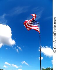 fierté, américain, 2