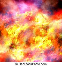 fiery, 背景
