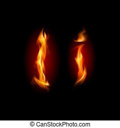 fiery, font., 手紙
