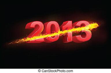 Fiery Happy New Year