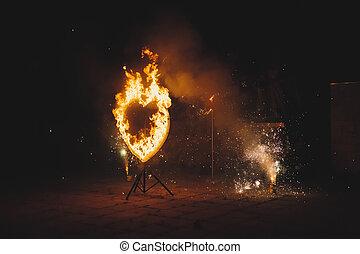 Fiery heart 1897.
