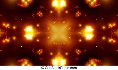 Fiery Kaleidoscopic Loop