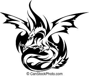 fiery, phoenix