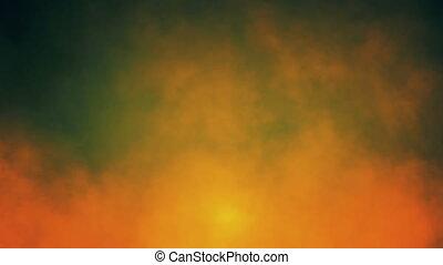 Fiery Smoke Seamless Background Loop