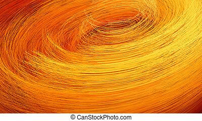 fiery, swirly, 背景, バックグラウンド。, 渦