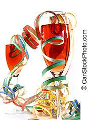 fiesta, bebida