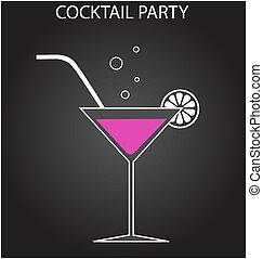 fiesta, cóctel