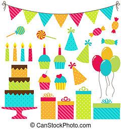fiesta, cumpleaños