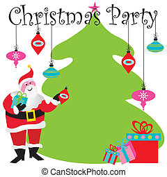 fiesta de christmas, invitación