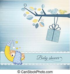 fiesta de nacimiento, anuncio