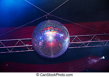 fiesta, luces, pelota club