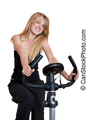 fiets, fitness