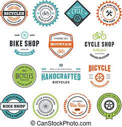 fiets, grafiek