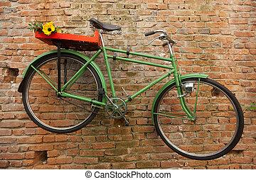 fiets, groene