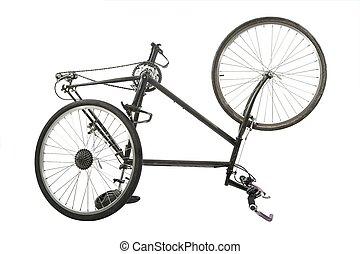 fiets, op wit